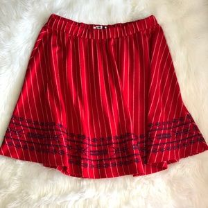 THML Skirts - THML • Red Swing Skirt